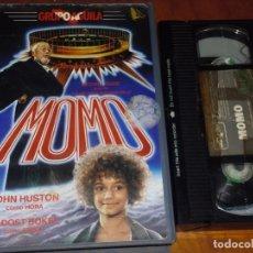 Cine: MOMO - JOHN HUSTON, RADOST BOKEL, MICHAEL ENDE - VHS. Lote 195446100