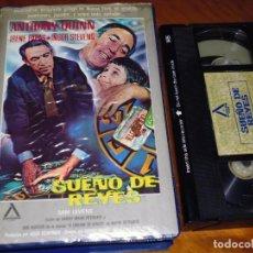 Cine: SUEÑO DE REYES - ANTHONY QUINN, IRENE PAPAS, INGER STEVENS - VHS. Lote 195446121