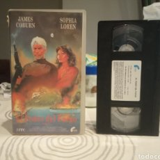 Cine: EL PODER DEL FUEGO VHS JAMES COBURN-SOFIA LOREN. Lote 195501563