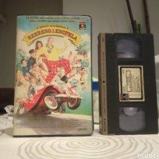 Cine: REGRESO A LA ESCUELA (1986) - ALAN METTER RODNEY DANGERFIELD SALLY KELLERMAN BURT YOUNG VHS. Lote 195502552