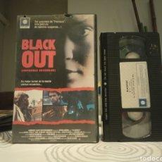 Cine: VHS - BLACK OUT (IMPOSIBLE RECORDAR) - THRILLER - 1 EDICION. Lote 195503062