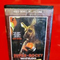 Cine: SUPER ROCKY (MATILDA) - EL CANGURO BOXEADOR. CON ELLIOTT GOULD Y ROBERT MITCHUM. Lote 195503586