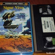 Cine: SIGUE VIVO - LARRY COHEN - TERROR - VHS. Lote 195533261