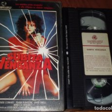Cine: SUBITA VENGANZA - DENISE COWARD, FRANK RUYEON - VHS. Lote 195533901