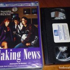 Cine: MAKING NEWS / FABRICANTES DE NOTICIAS - ART HINDLE - VHS. Lote 195537641