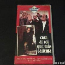 Cine: VHS VIDEO CARA AL SOL QUE MAS CALIENTA JOSÉ LUIS LÓPEZ VÁZQUEZ ÚNICA EN TC. Lote 195544620