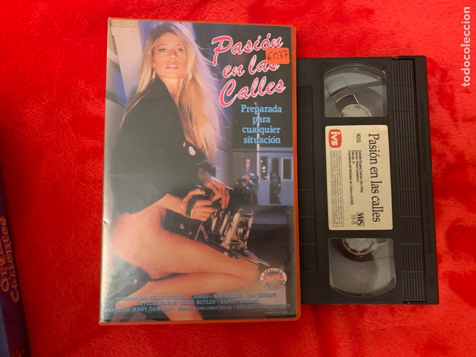 PASIÓN EN LAS CALLES PELÍCULAS VHS X (Cine - Películas - VHS)