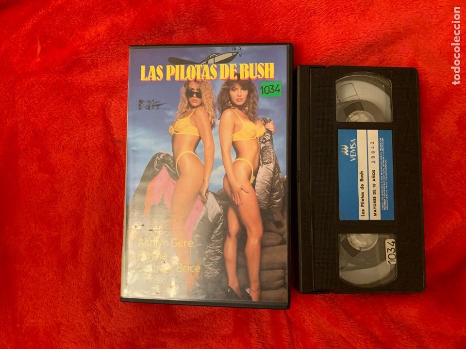 LAS PILOTAS DE BUSH PELÍCULA VHS X (Cine - Películas - VHS)