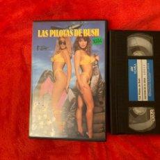 Cine: LAS PILOTAS DE BUSH PELÍCULA VHS X. Lote 195904860