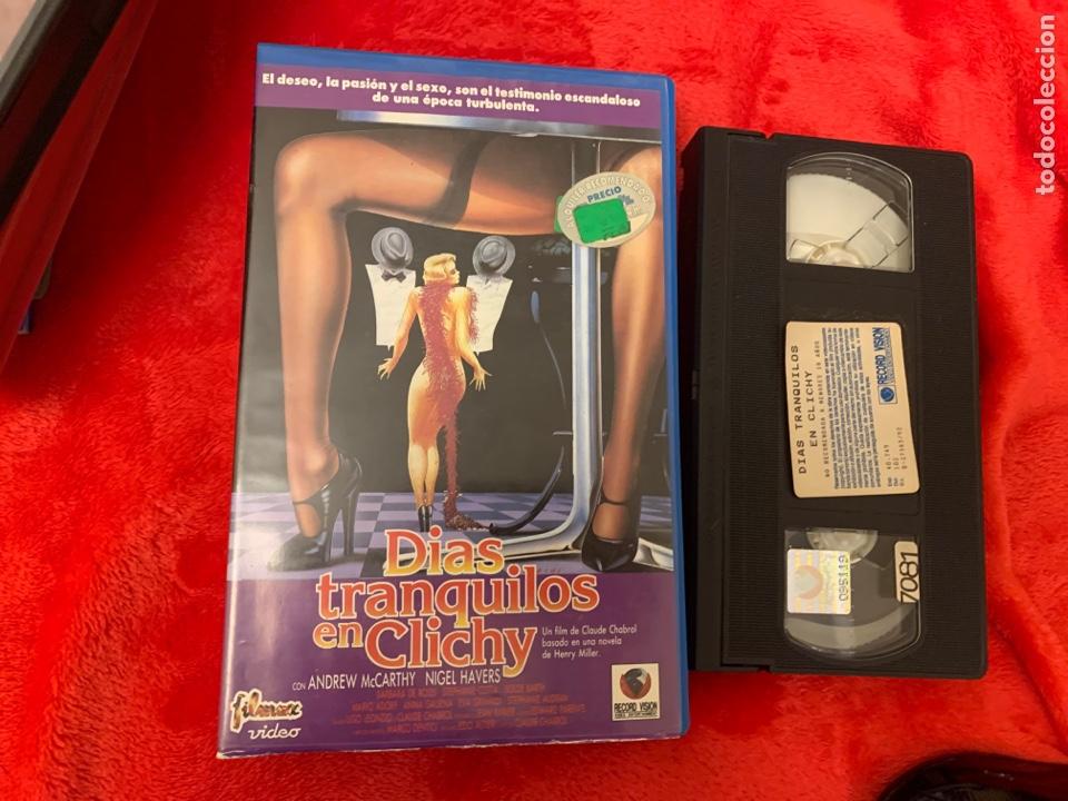 DÍAS TRANQUILOS EN CLICHY PELÍCULAS VHS X (Cine - Películas - VHS)