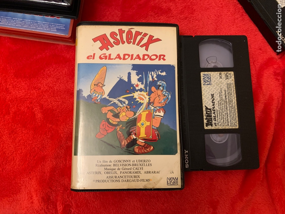 ASTERIX EL GLADIADOR PELÍCULA VHS (Cine - Películas - VHS)