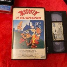 Cine: ASTERIX EL GLADIADOR PELÍCULA VHS. Lote 195908072