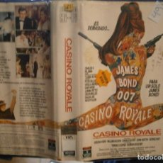 Cine: ¡¡ CASINO ROYALE¡¡VHS¡¡1 EDICCION¡¡. Lote 196057285