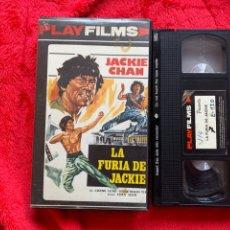 Cine: LA FURIA DE JACKIE PELÍCULA VHS JACKIE CHAN. Lote 196353023
