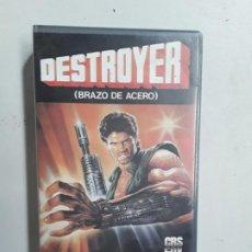Cine: VHS CINTA DESTROYER BRAZO DE ACERO. Lote 196518920