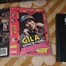 Cinéma: GILA, SUMA Y SIGUE , VHS. Lote 196843657