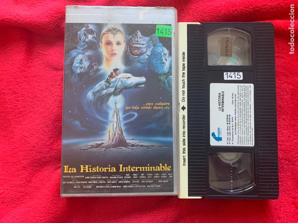 LA HISTORIA INTERMINABLE PELÍCULA VHS (Cine - Películas - VHS)