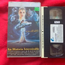 Cine: LA HISTORIA INTERMINABLE PELÍCULA VHS. Lote 197111431