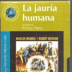 Cine: LA JAURÍA HUMANA - VHS - PRECINTADA. Lote 197168405