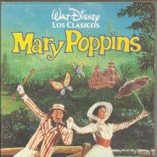 Cine: MARY POPPINS - WALT DISNEY - VHS. Lote 197169668