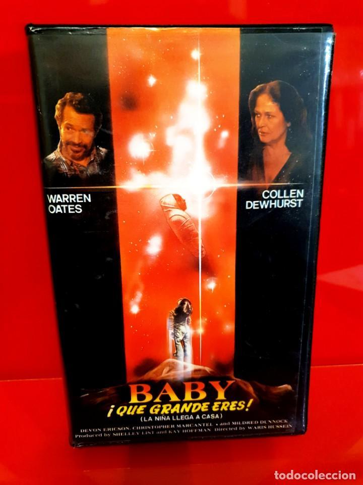 BABY, ¡QUE GRANDE ERES! - LA NIÑA LLEGA A CASA (1980) (Cine - Películas - VHS)