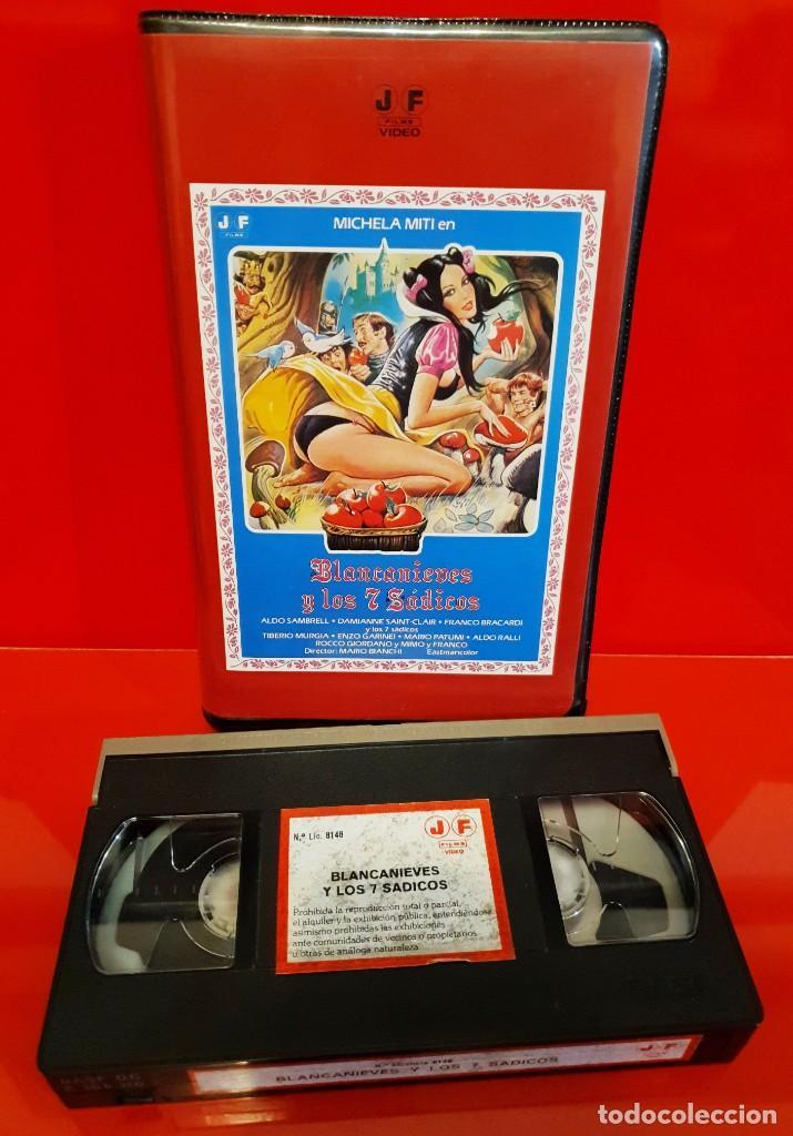 Cine: BLANCANIEVES Y LOS 7 SADICOS (1982) - DIR. Mario Bianchi - JOSE FRADE - Foto 3 - 197689721