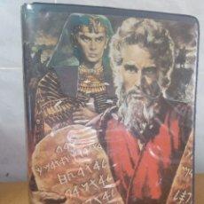 Cine: LOS DIEZ MANDAMIENTOS PELÍCULAS VHS PRIMERA EDICIÓNMANDO OTRA CAJA EN PERFECTO ESTADO. Lote 197833003