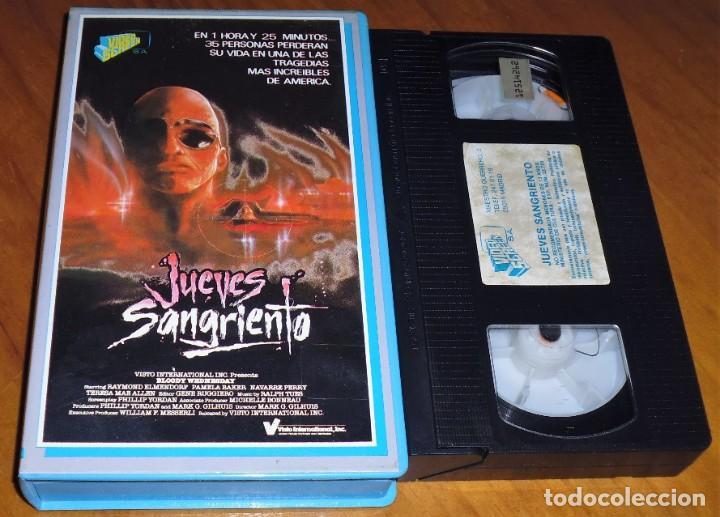 JUEVES SANGRIENTO - TERROR - VHS (Cine - Películas - VHS)