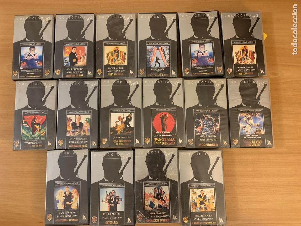 COLECCIÓN DE PELÍCULAS DE JAMES BON 007 VHS (Cine - Películas - VHS)