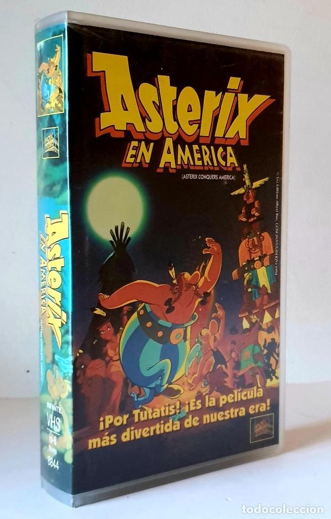 ASTERIX EN AMÉRICA PELICULA VHS AÑO 1995 (Cine - Películas - VHS)