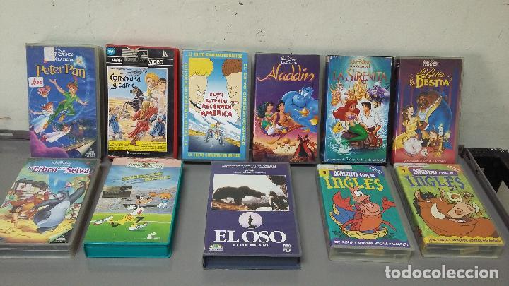 ¡¡¡ LIQUIDACION !!! COLECCIÓN 11 PELICULAS INFANTILES EN VHS (Cine - Películas - VHS)
