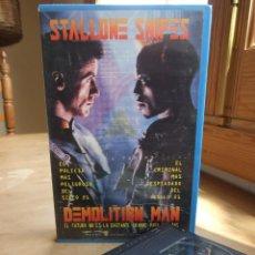 Cine: DEMOLITION MAN - MARCO BRAMBILLA - STALLONE SNIPES , WESLEY SNIPES - WARNER 1994. Lote 217216785