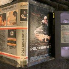 Cine: PORTERGEIST II PELÍCULAS VHS PRIMERA EDICIÓN. Lote 198762186