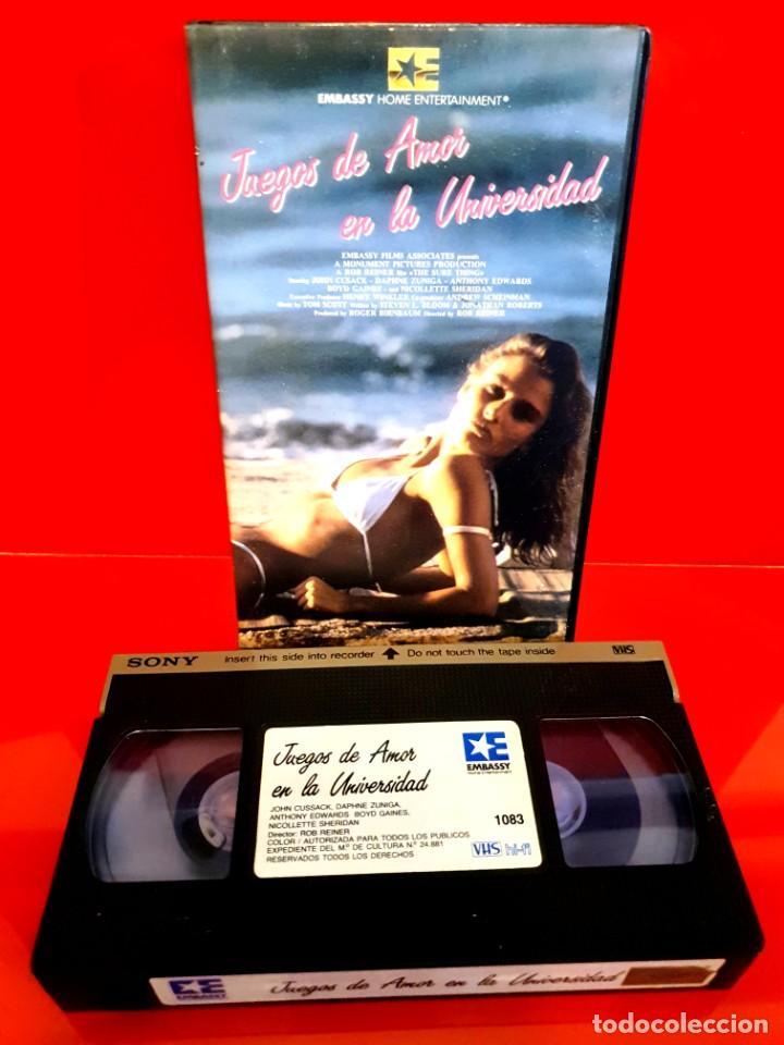 Cine: JUEGOS DE AMOR EN LA UNIVERSIDAD (1985) - Rob Reiner, John Cusack - Foto 3 - 198832737