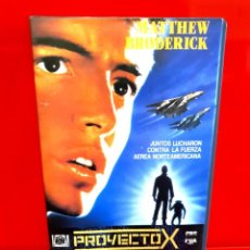 Cine: PROYECTO X (1987) - JONATHAN KAPLAN, MATTHEW BRODERICK . Lote 198833846