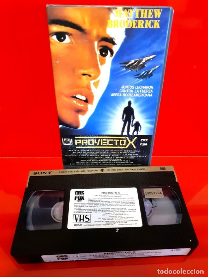 Cine: PROYECTO X (1987) - Jonathan Kaplan, Matthew Broderick - Foto 3 - 198833846