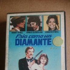 Cine: VHS FRIA COMO UN DIAMANTE. Lote 199092093