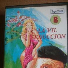 Cine: VHS LA VIL SEDUCCION. Lote 199092606