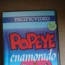 Cine: VHS POPEYE ENAMORADO. Lote 199105737