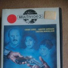 Cine: VHS CRIMEN EN FAMILIA. Lote 199151475