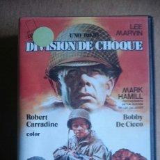 Cine: VHS UNO ROJO DIVISION DE CHOQUE. Lote 199154706