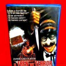 Cine: EL TREN DEL TERROR (1980) - JAMIE LEE CURTIS, SLASHER 1ª EDICION. Lote 199174780