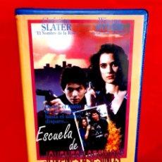 Cine: ESCUELA DE JOVENES ASESINOS (1989) - HEATHERS - RARA J. FRADE. Lote 199182411