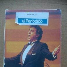 Cine: VHS LO MEJOR DE PLACIDO DOMINGO, COLECCION. 5 VOCES DIVINAS. Lote 199232346