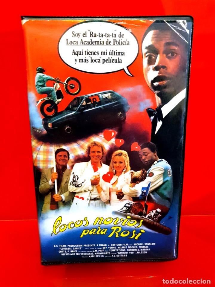 LOCOS NOVIOS PARA ROSI (1987) - MICHAEL WINSLOW, THOMAS GOTTSCHALK (Cine - Películas - VHS)