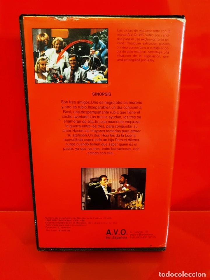 Cine: LOCOS NOVIOS PARA ROSI (1987) - Michael Winslow, Thomas Gottschalk - Foto 2 - 199317921