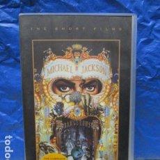 Cine: VHS - MICHAEL JACKSON DANGEROUS THE SHORT FILMS. Lote 199420772