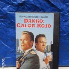 Cine: VHS - DANKO: COLOR ROJO - ARNOLD SCHWARZENEGGER. Lote 199422090