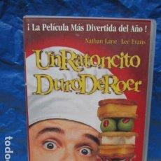 Cine: VHS - UN RATONCITO DURO DE ROER - GORE VVERBINSKI - NATHAN LANE. Lote 199422328