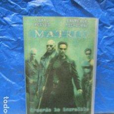 Cine: VHS MATRIX EDICION ESPECIAL COLECCIONISTAS CARATULA LENTICULAR 3 D - KEANU REEVES. Lote 199423122